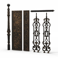 Cast Iron Stair parts
