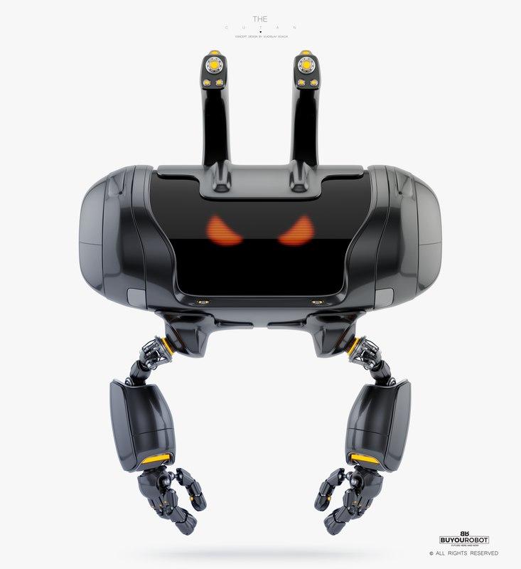 robot robotic 3D