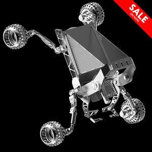 3D moon rover