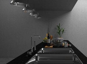 kitchen set 3D