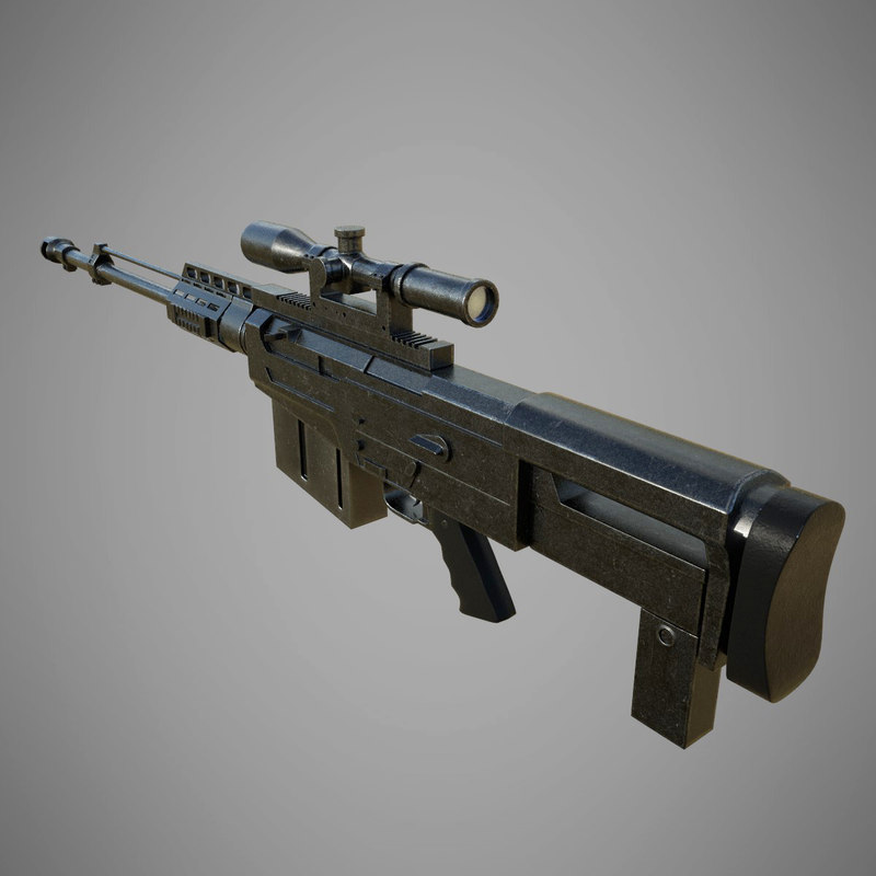 as50 sniper rifle model