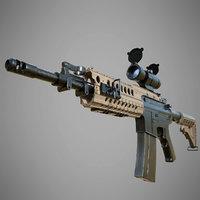 barrett m468 3D model