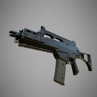 3D model heckler koch g36c