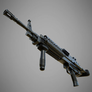 3D m249 spw