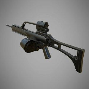 h k g36 3D model