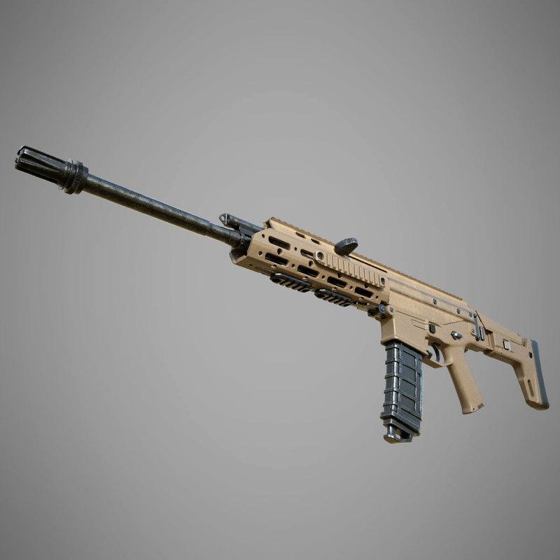 3D remington acr model