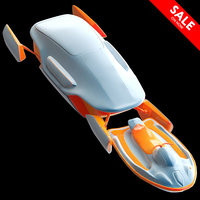 3D space hovercraft