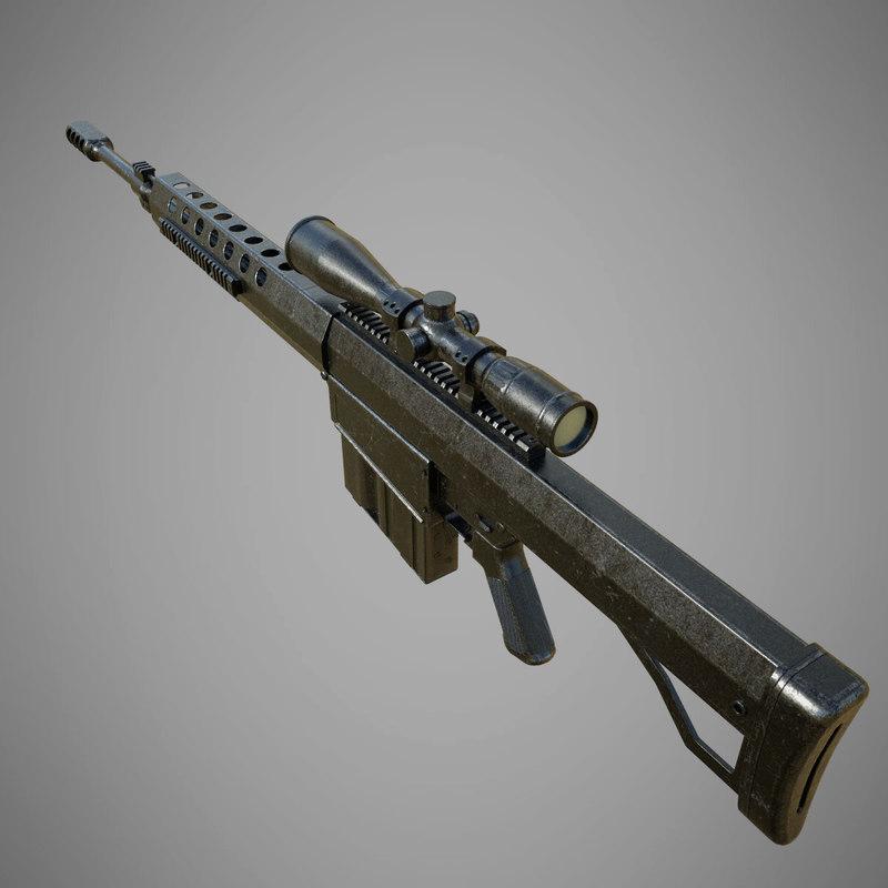 serbu bfg-50a 3D model