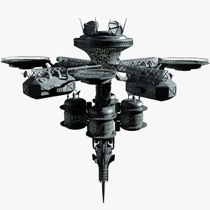 space station model