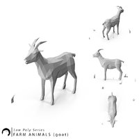 3D stylized animal