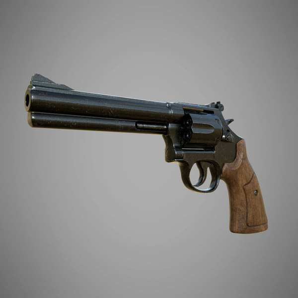 3D model smith wesson 586 revolver