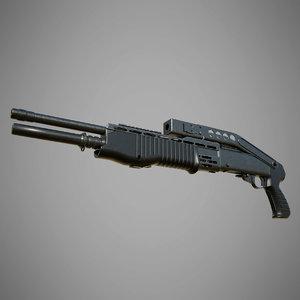 spas-12 spas 12 3D model
