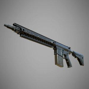 sr-25 3D model