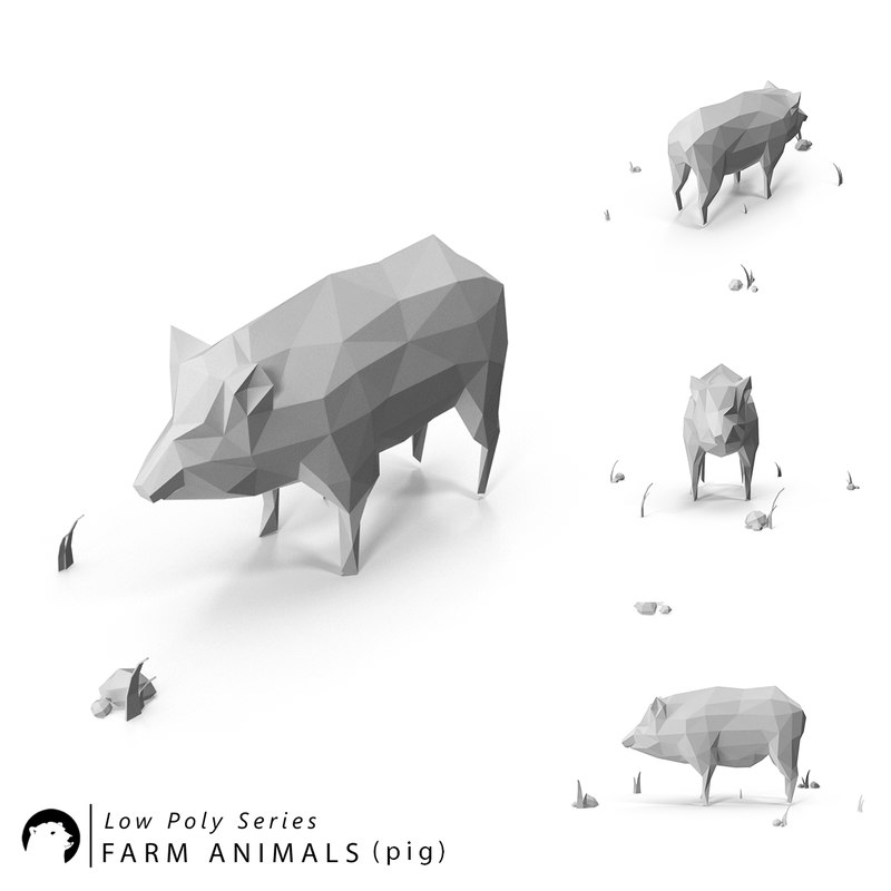 stylized animal model