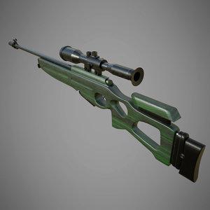 3D sv-98 model