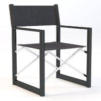 Director's Outdoor Aluminum Armchair