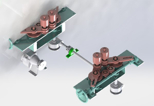 gear positioning 3D model