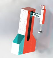 3D cantilever laminate mechanism
