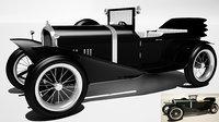 3D bentley 1926