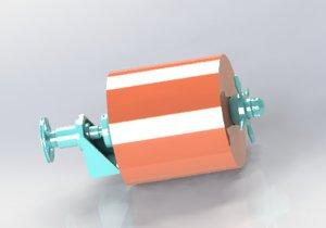film releasing mechanism 3D model
