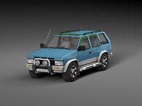 car nissan terrano 3D model