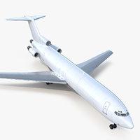 3D model boeing 727-200f generic