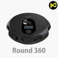 3D project camera model
