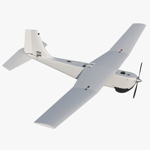 3D hand launched unmanned aircraft