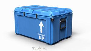 3D model equipment case -