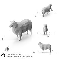 Low Poly Farm Animals / Sheep