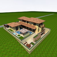 3D villa hangzhou simple