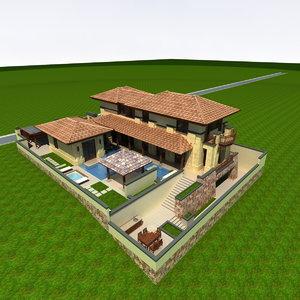 3D villa hangzhou simple