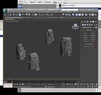 3D stone models dsa