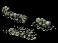 3D stone models 031