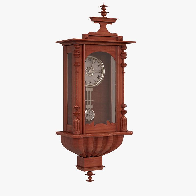 antique wall clock model