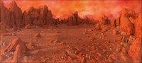 Planet Mars Environment