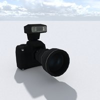 Low Poly Camera