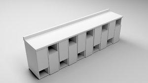3D model sideboard