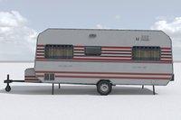 Low Poly Caravan