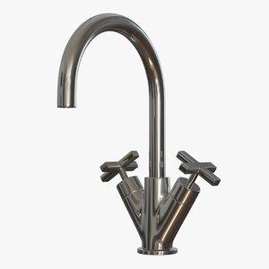 faucet rubinetterie treemme line 3D model