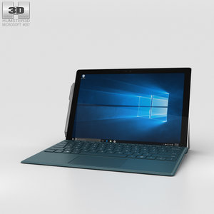 3D microsoft surface 4