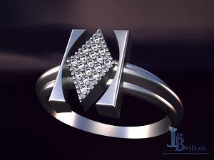 3D model virgo gems