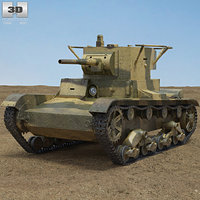 t-26 t 26 3D model