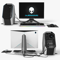 dell alienware 3D