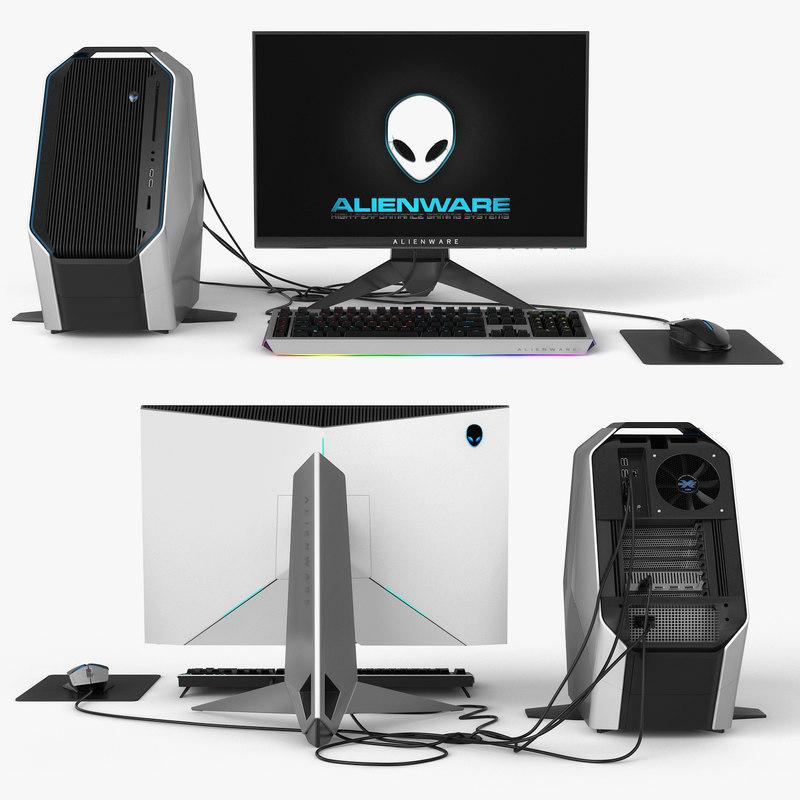 dell alienware 3D