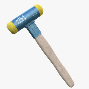 rubber hammer 3D model