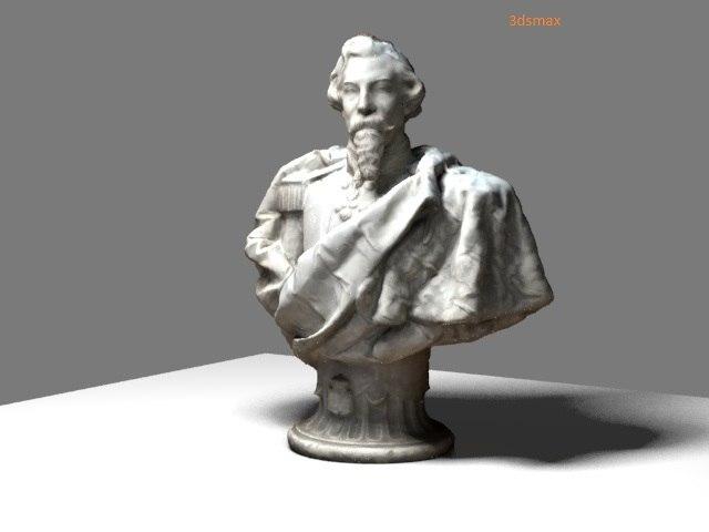 bust don fernando ii 3D model