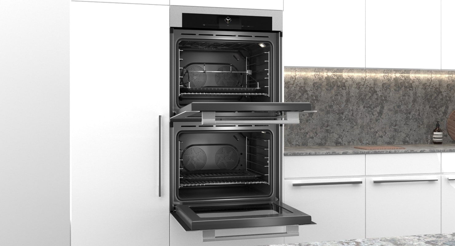 miele oven built 3D model