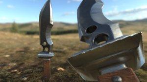 military knife model
