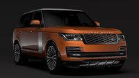3D range rover autobiography p400e